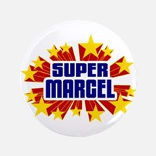 """Marcel the Super Hero 3.5"""" Button (100 pack)"""