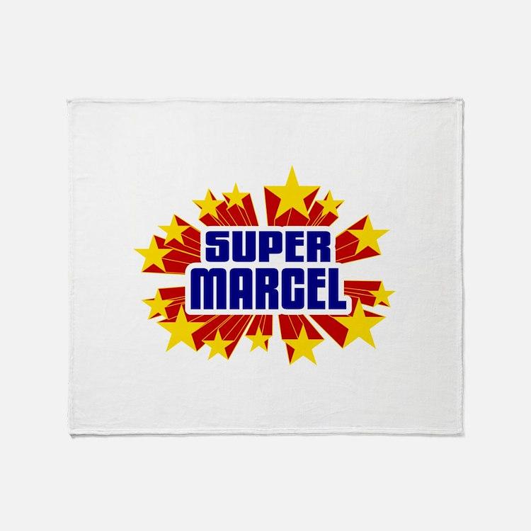 Marcel the Super Hero Throw Blanket