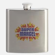 Marcel the Super Hero Flask