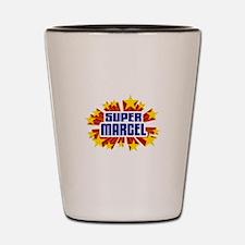 Marcel the Super Hero Shot Glass