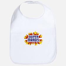 Marcel the Super Hero Bib