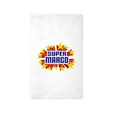 Marco the Super Hero 3'x5' Area Rug