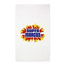 Marcos the Super Hero 3'x5' Area Rug