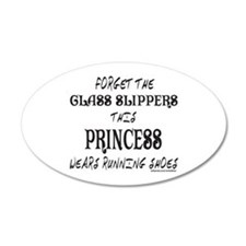 THIS PRINCESS WEARS RUNNING SHOES Wall Sticker