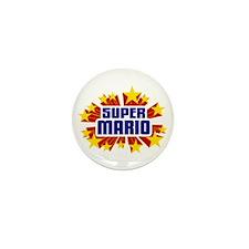 Mario the Super Hero Mini Button