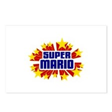 Mario the Super Hero Postcards (Package of 8)