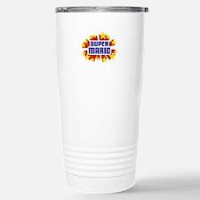 Mario the Super Hero Travel Mug