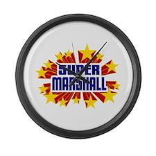 Marshall the Super Hero Large Wall Clock