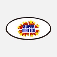 Matteo the Super Hero Patches