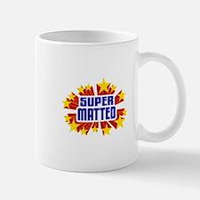 Matteo the Super Hero Mug