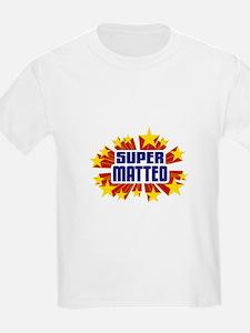 Matteo the Super Hero T-Shirt