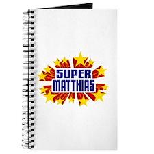 Matthias the Super Hero Journal