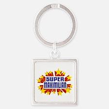 Maximilian the Super Hero Keychains