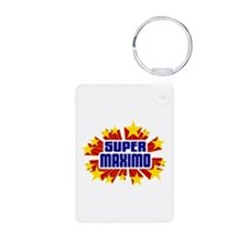 Maximo the Super Hero Keychains