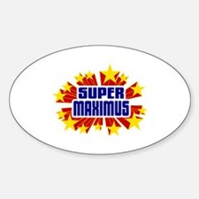 Maximus the Super Hero Decal