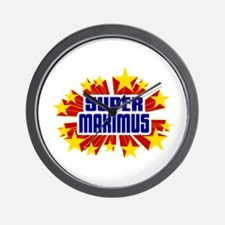 Maximus the Super Hero Wall Clock