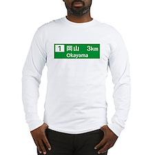 Roadmarker Okayama - Japan Long Sleeve T-Shirt