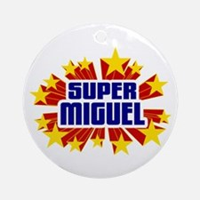 Miguel the Super Hero Ornament (Round)