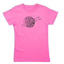 Minimalistic Knit Girl's Tee