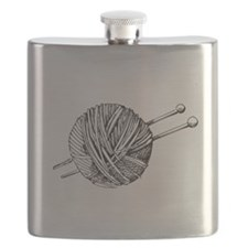 Minimalistic Knit Flask