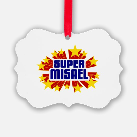 Misael the Super Hero Ornament