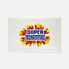 Mohammad the Super Hero Rectangle Magnet