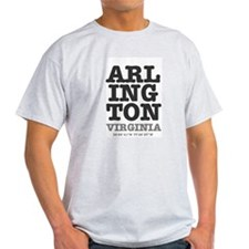 US CITIES - ARLINGTON,VIRGINIA - LAT LONG T-Shirt