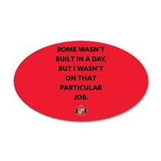 Rome Wasn't Built In A Day S Wall Decal