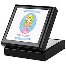 Personalized Girly Keepsake Box