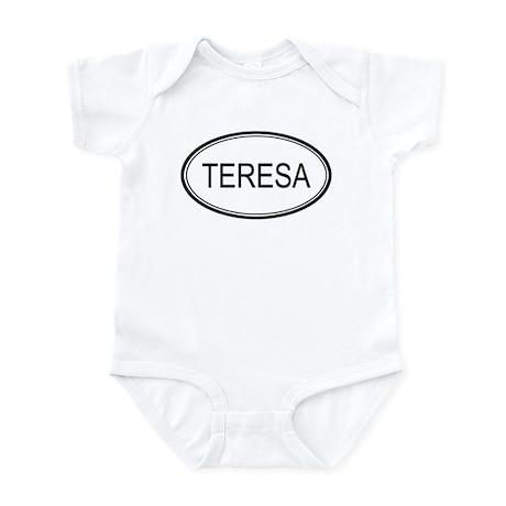 Teresa Oval Design Infant Bodysuit