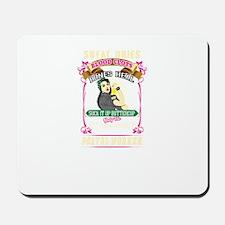 Super Cool Postal Worker Women Mousepad