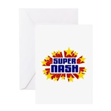 Nash the Super Hero Greeting Card