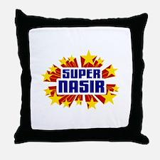 Nasir the Super Hero Throw Pillow