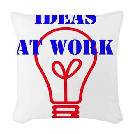 IDEAS AT WORK Woven Throw Pillow