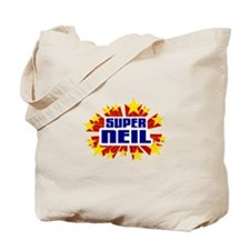 Neil the Super Hero Tote Bag