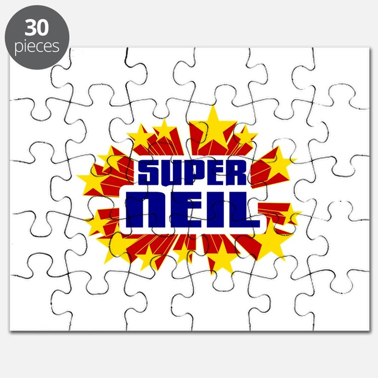 Neil the Super Hero Puzzle