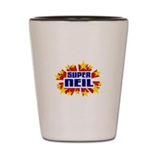 Neil the Super Hero Shot Glass