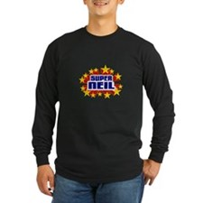 Neil the Super Hero Long Sleeve T-Shirt