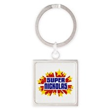 Nickolas the Super Hero Keychains