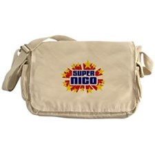 Nico the Super Hero Messenger Bag
