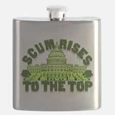 Scum Rises To The Top Flask