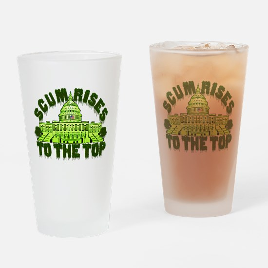Scum Rises To The Top Drinking Glass