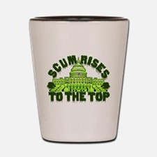 Scum Rises To The Top Shot Glass