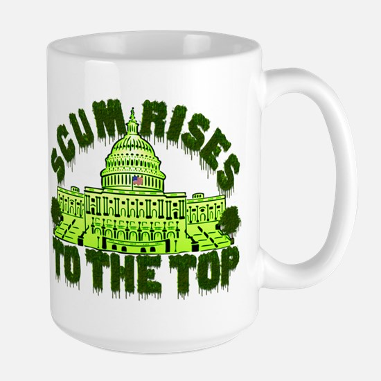 Scum Rises To The Top Mug