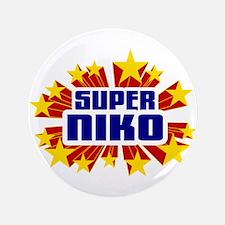 """Niko the Super Hero 3.5"""" Button"""