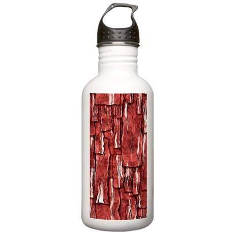 Got Meat? - Overlapping bacon Stainless Water Bott