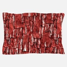 Got Meat? - Overlapping bacon Pillow Case