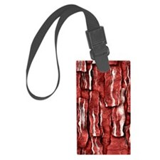Got Meat? - Overlapping bacon Luggage Tag