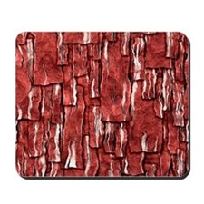 Got Meat? - Overlapping bacon Mousepad