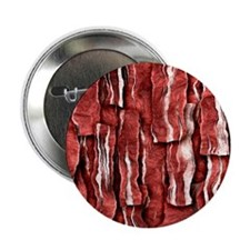 """Got Meat? - Overlapping bacon 2.25"""" Button (10 pac"""